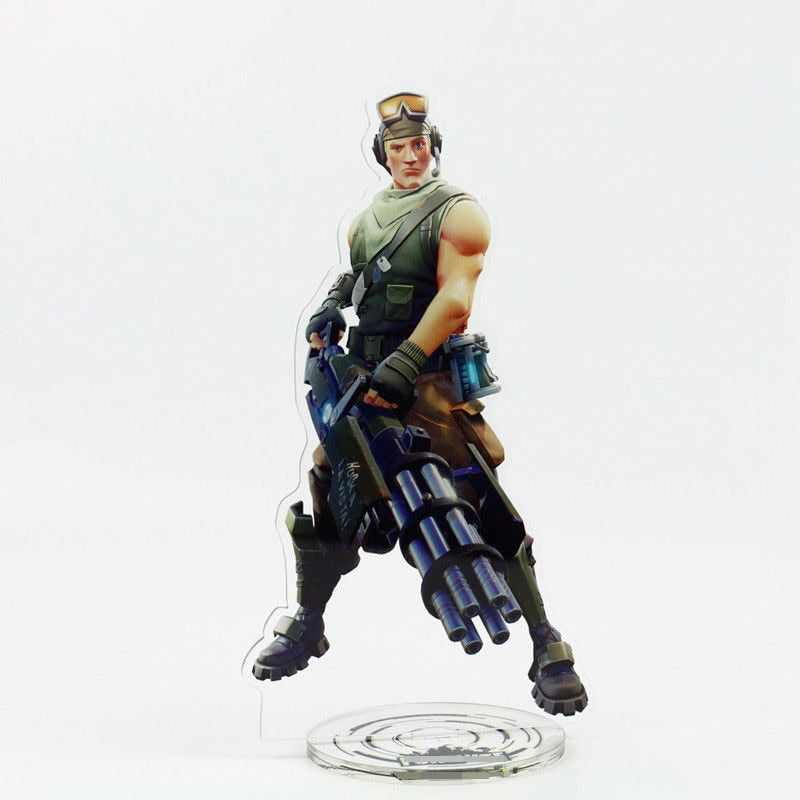 Fortnite Character Acrylic Stand Action Figure