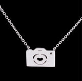 Elegant Stainless steel Choker Necklace - Multiple Shapes