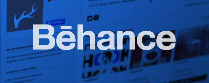 Behance is a great place for inspiration and publicity.