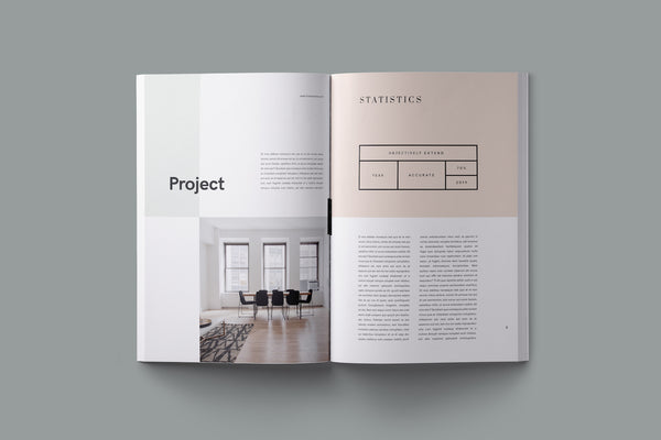 Nano Proposal Indesign Template Indesign Template GoaShape