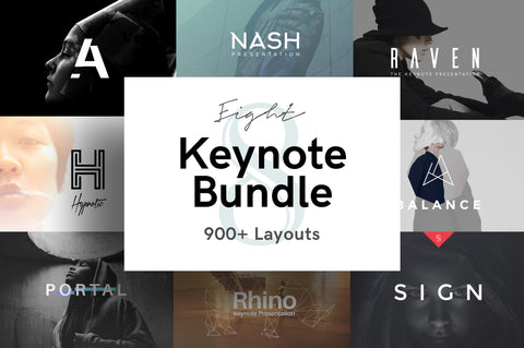 8 Keynote Presentation Bundle + Bonuses Presentation Template Bundle GoaShape