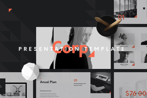 Corp Keynote Presentation Template by GoaShape Presentation Template GoaShape