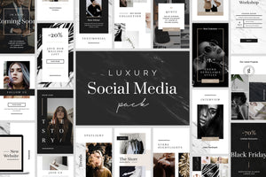 Luxury Instagram Stories Pack Social Media Pack GoaShape
