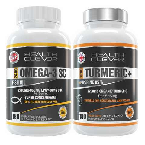 <b>Omega-3 SC & Turmeric + Piperine - 3 Months Supply</b>