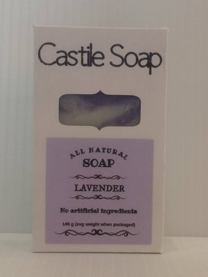 All-Natural Handmade Castile Soap Bars - 125 g