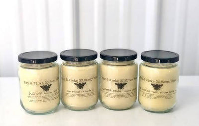 Pure Beeswax Jar Candle Unscented