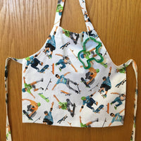 Home Sewn Children's Wrap Around Aprons