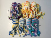 Crochet Octopus Cat Herb Cat Toy - Small