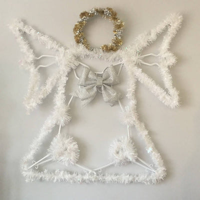 Holiday Clothes Hanger Angel