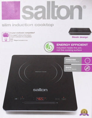 Salton Slim Induction Cooktop - Used