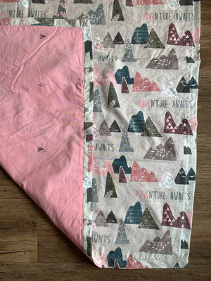 Cotton Muslin baby blanket