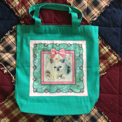 Canvas Tote Bags - Cat Themes