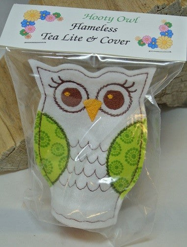 Hooty Owl T-Lite & Cover - Variety