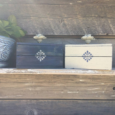 Redesigned Decorative Wood Storage Box