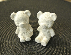 Teddy Bear Duo Paintable - 3D