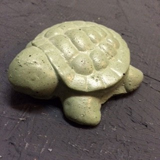 Concrete Turtle Figurine