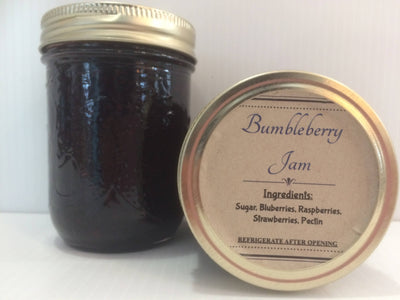 Homemade Bumbleberry Jam