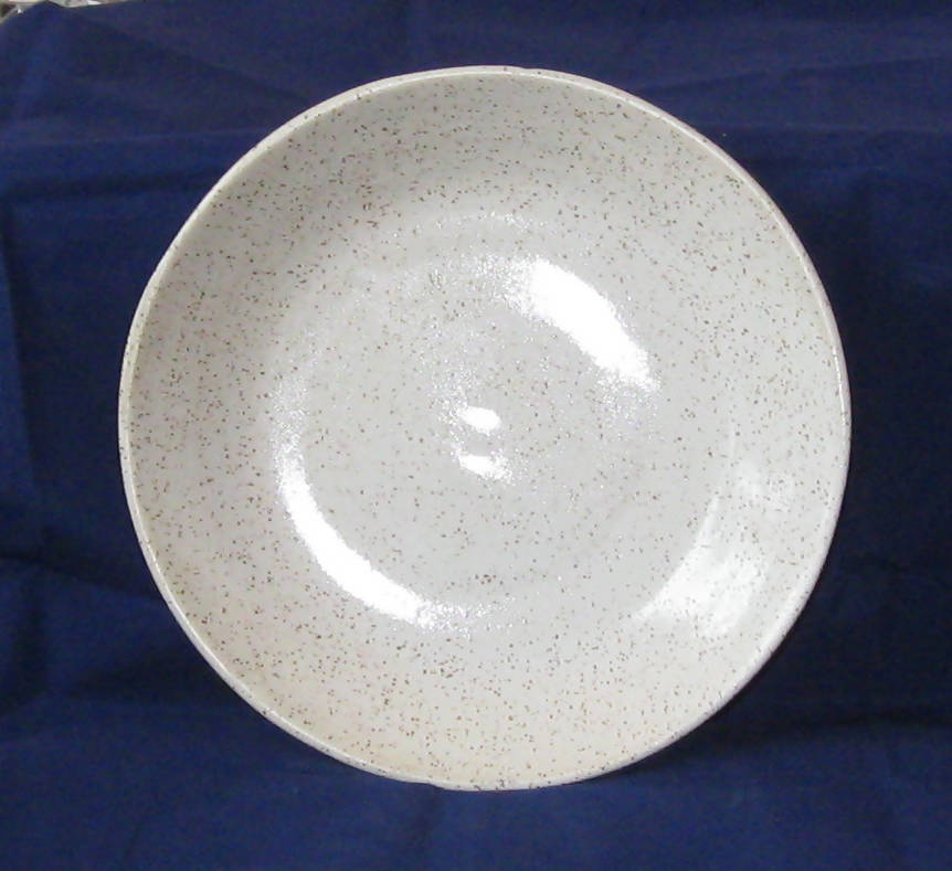 Speckled Pottery Serving Plate