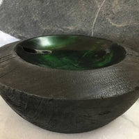 """Dragon Eye"" Aspen Wood Hand Turned Bowl"