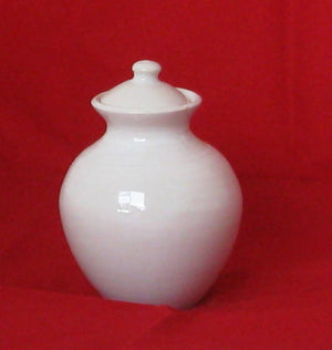 Pottery Vase with Lid