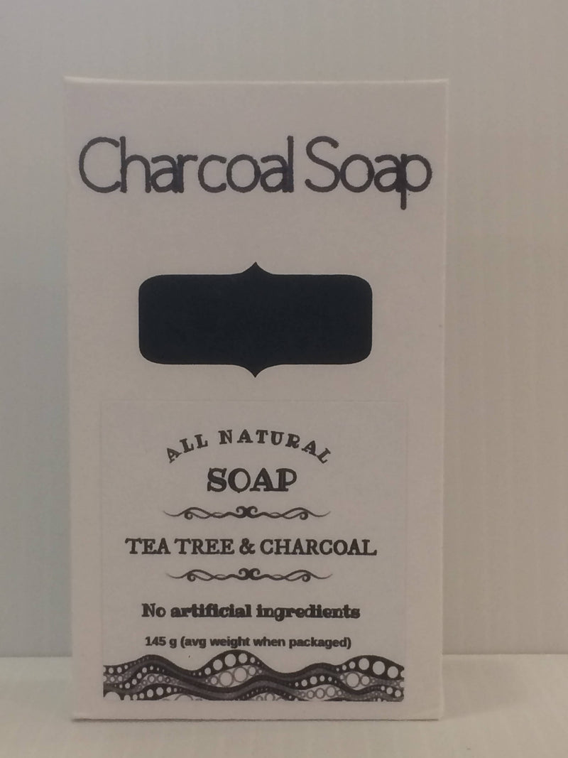 All Natural Charcoal & Tea Tree Soap - 125 g