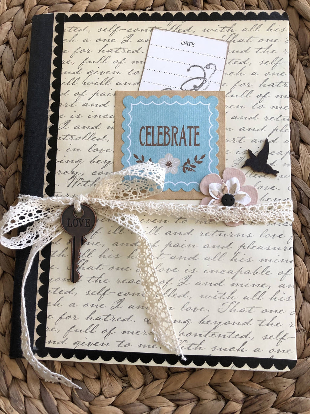 Handmade Upcycled Large Composition Books