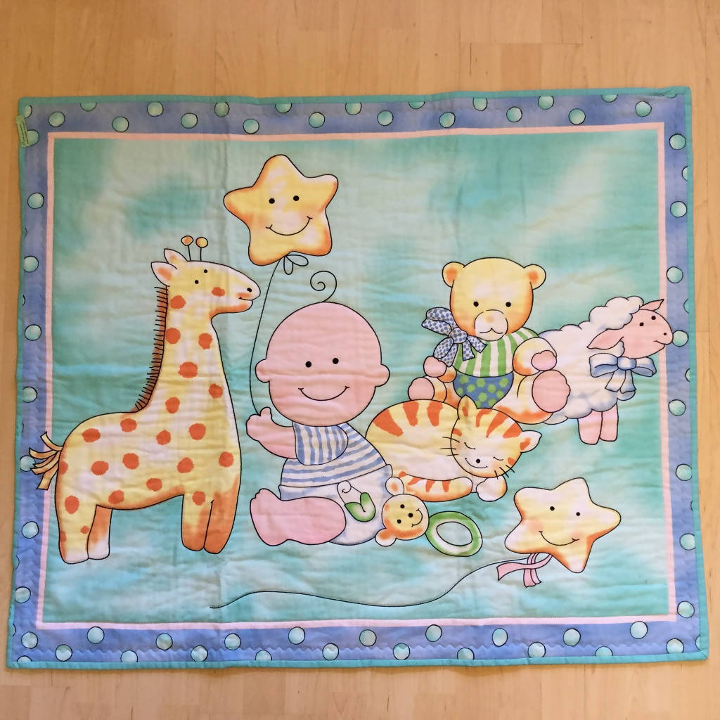 Cartoon Baby Quilt