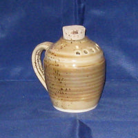Pottery Spice Jar with Handle