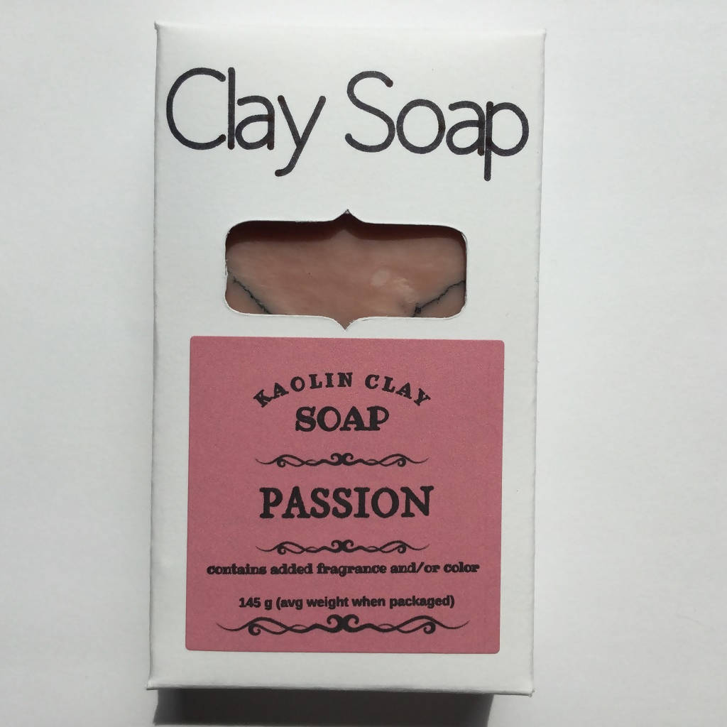 All Natural Clay Handmade Soap Bars - 125 g