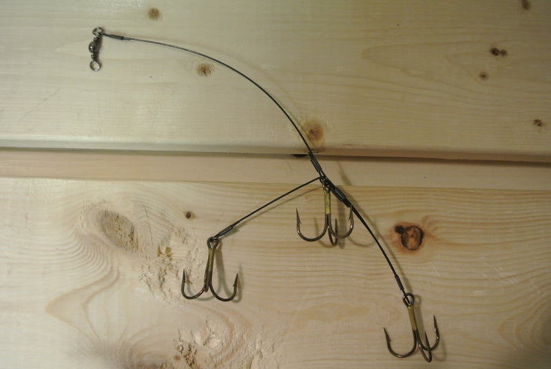 Camo 3-Hook Fishing Rig