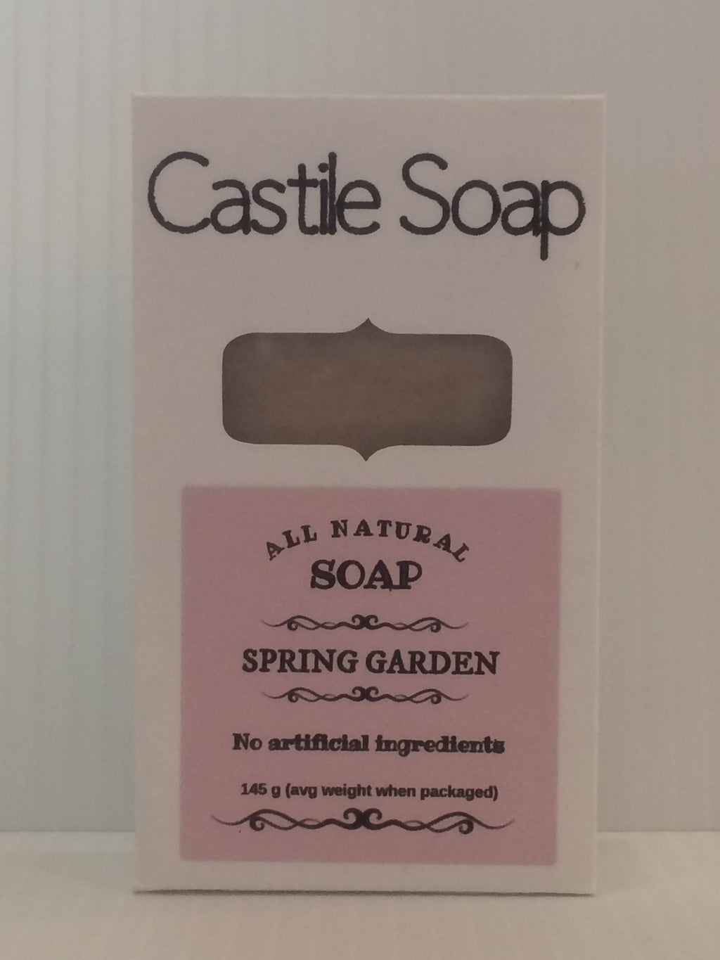 All-Natural Castile Soap - 125 g