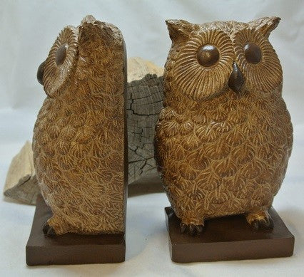Owl Bookends