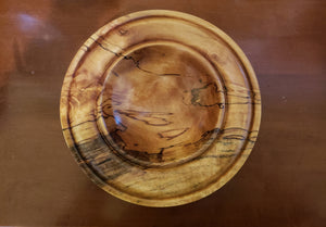 Handmade Spalted Birch Wood Bowl