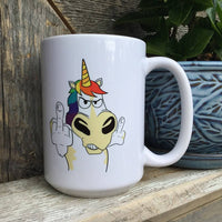Printed Ceramic Coffee Mug I Believe In Magic