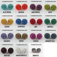 Sparkleball Stud Earrings - 6mm