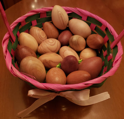 Handmade Wooden Eggs