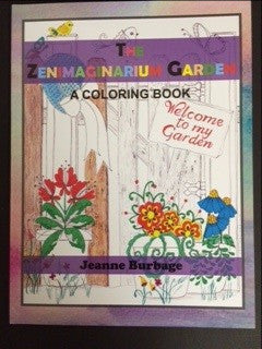 The Zenimaginarium Garden Coloring Book