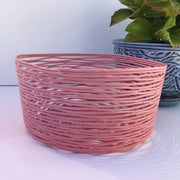 Recycled Plastic Decorative Baskets Medium