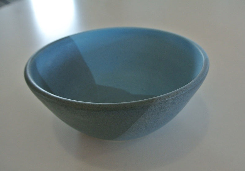 Blue Grey Pottery Bowl