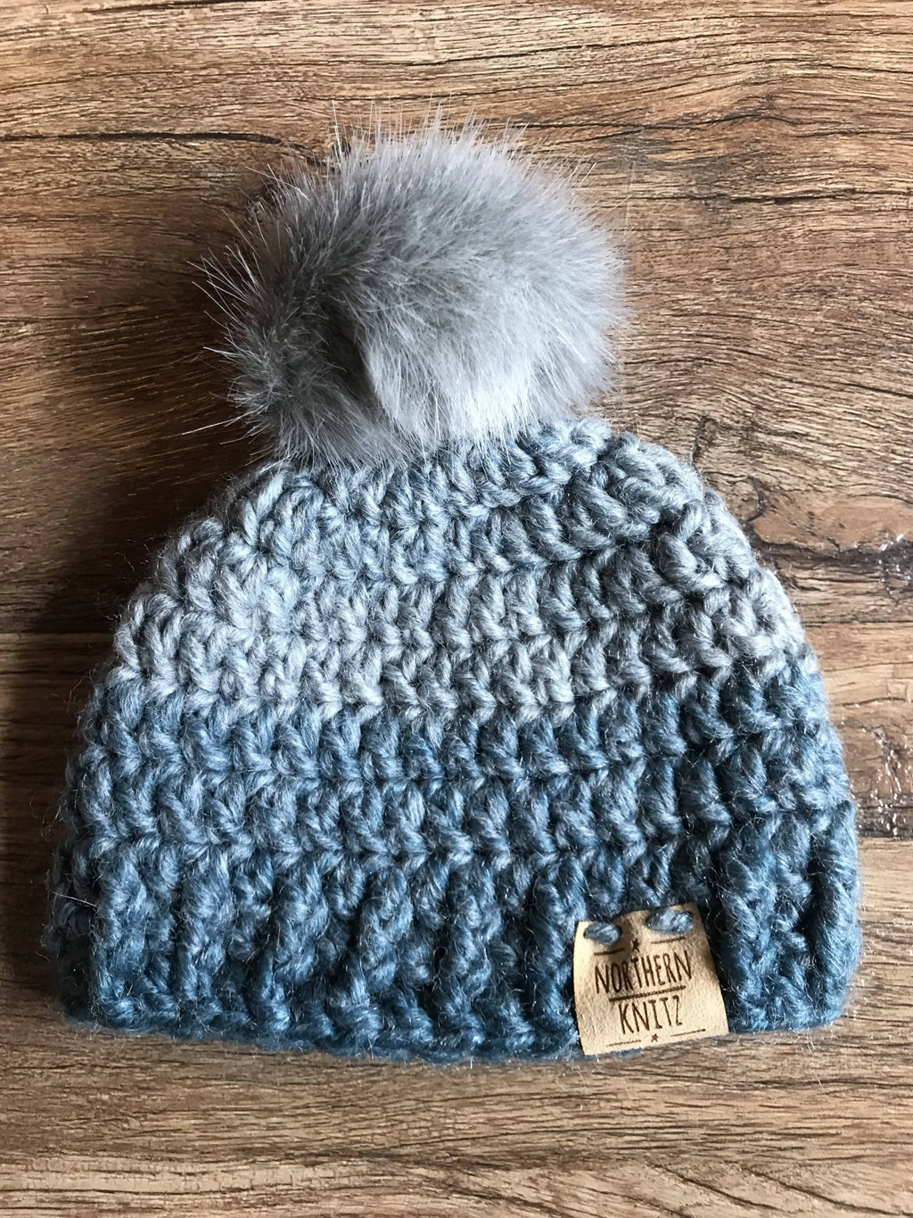 Crochet Newborn Toque with Pompom