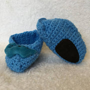 Children's Novelty Crochet Slippers