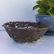 Recycled Plastic Decorative Fluted Bowls Random Pattern Medium