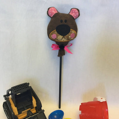 Embroidered Puppet Pals Stick Puppets