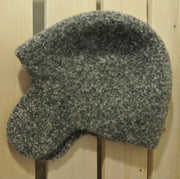 100% Wool Earflap Hat - Maple Tweed