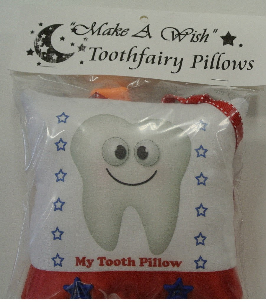 My Tooth Make A Wish Tooth Fairy Pillow