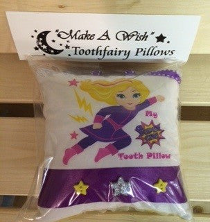 "Super Girl - ""Make A Wish"" Tooth-fairy Pillow"