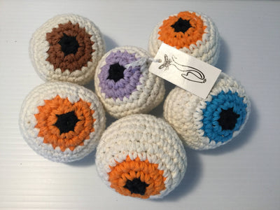 Crochet Eyeball Cat Herb Cat Toy