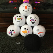 Indoor Plush Snowball Game