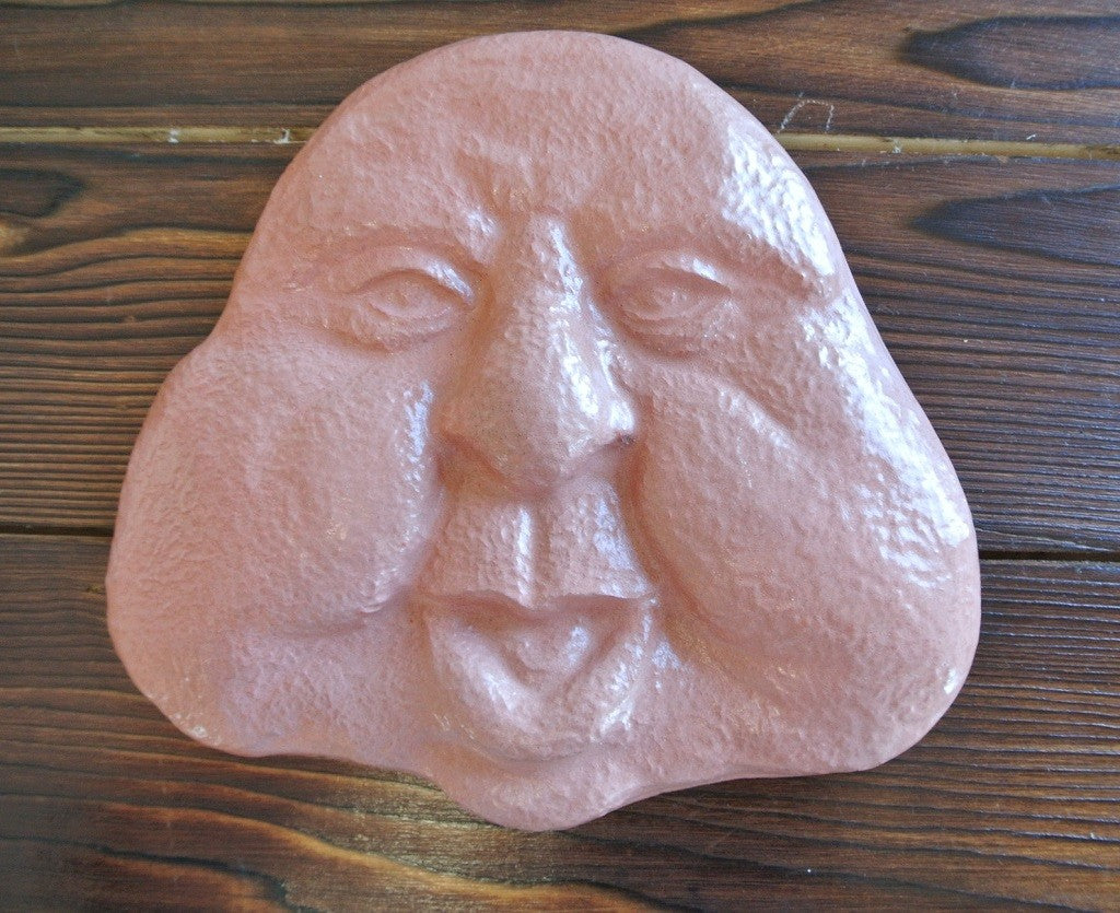Chubby Cheeks Concrete Wall Hanging