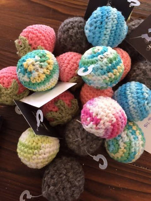 Crochet Ball Cat Herb Cat Toy